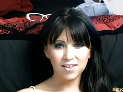 Lusty humiliation talk from a gorgeous dark haired girl tubes