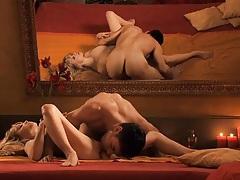 Erotic 69 where she licks his balls and ass tubes