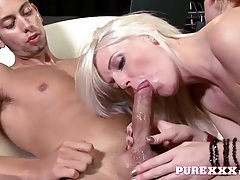 Tall and skinny girl dicked in her cunt from behind tubes