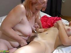 Oldnanny - blonde women, big boobs compilation tubes