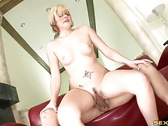 Cunt of a cock rider is nice and wet tubes
