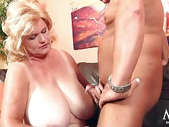 Bbw babe with gigantic tits fucked in her hot hole tubes