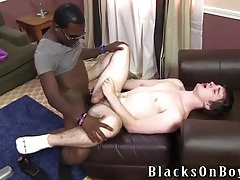 Interracial sex with a milky white boy and bbc tubes