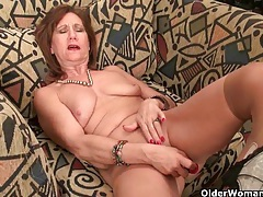 American milfs give their pussy much needed relief tubes