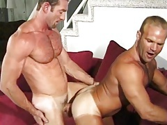 Muscular daddies fuck and moan lustily tubes
