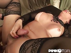 Big titty tranny fucked in her tight ass tubes