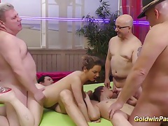 Sexy girls in wild groupsex orgy tubes
