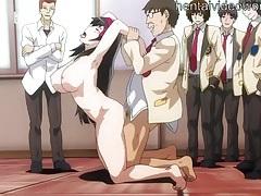 Naked hentai schoolgirl fucked in class tubes