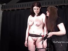 Chubby lesbian slave alyss tubes