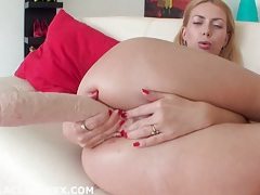 Isabella clark gaped and prolapsed from brutal dildo tubes