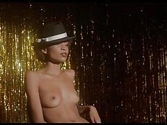 Sexy stripper on stage watches him masturbate tubes