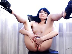 Hairy pussy solo beauty lost in masturbation tubes