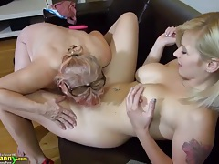 Old fat grannies love bdsm with young sweet girls compilation tubes