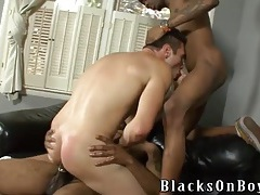 Black tops bring a white bitch home to fuck him tubes