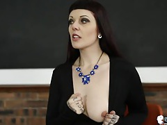 Erotic joi and tits teasing from a dark haired babe tubes