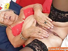 Blond-haired madam giving a blowjob tubes