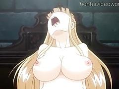 Huge tits hentai bondage girl fucked hard tubes